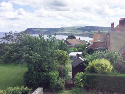 View of Robin Hood's Bay from our Green Room